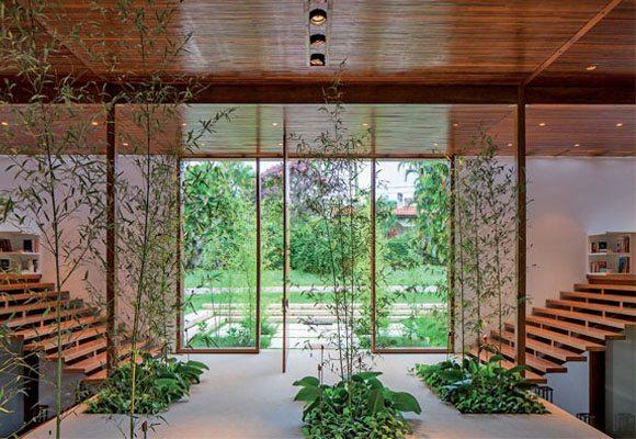 Jardim De Inverno Na Sala De Estar Fotos ~ Jardim de inverno leva natureza para dentro do lar  Primeira Página