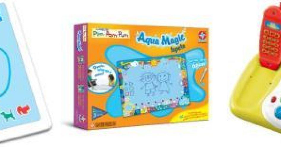 Estrela lança brinquedos educativos para entreter e ensinar bebês