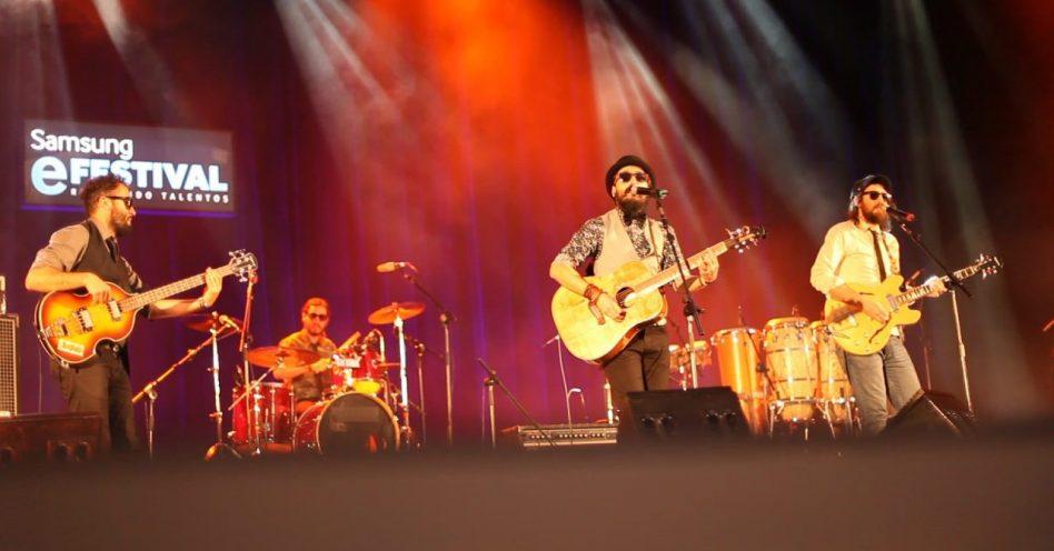 Banda gaúcha General Bonimores e guitarrista Lari Basílio vencem projeto Samsung E-Festival