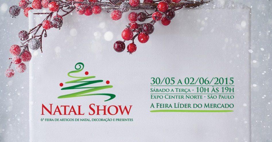 Natal Show abre temporada de negócios do setor com área maior