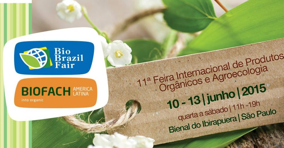 Bio Brazil Fair/Biofach América Latina começa nesta quarta