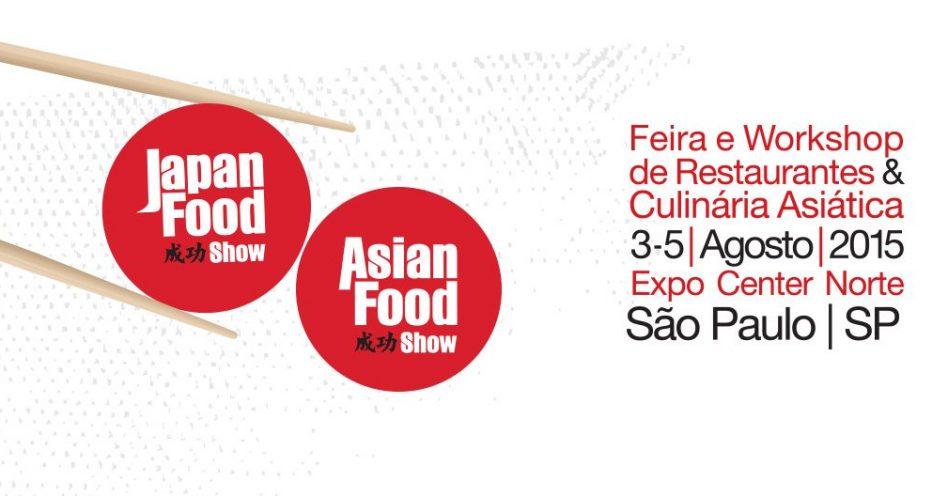 Japan & Asian Food Show começa segunda no Expo Center Norte
