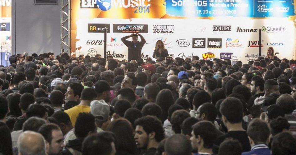 Palco de um mercado estimado em R$ 2,5 bi, Expomusic chega com novidades