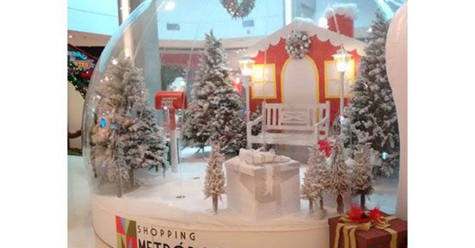 Natal no Shopping Metrópole