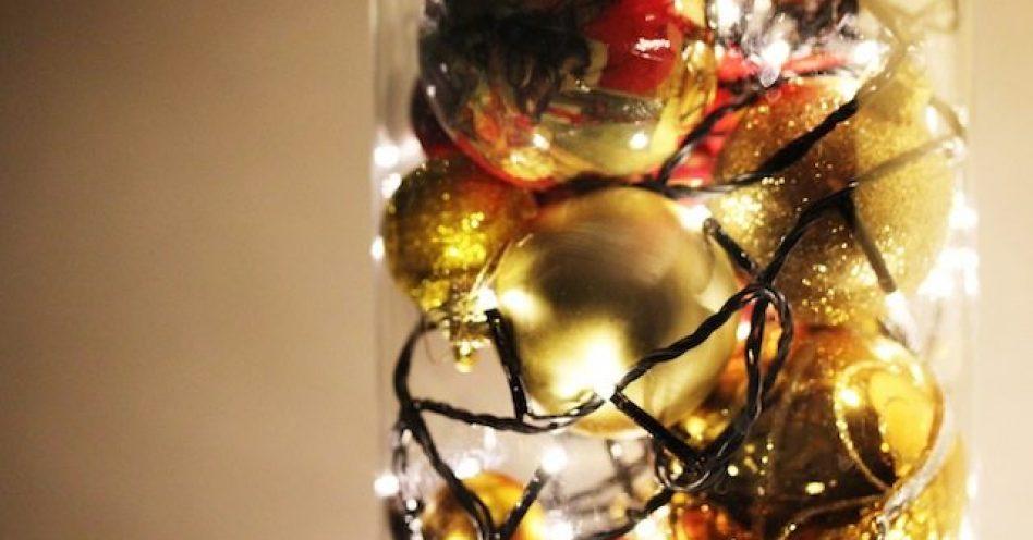 Bolas de Natal podem decorar outros espaços da casa