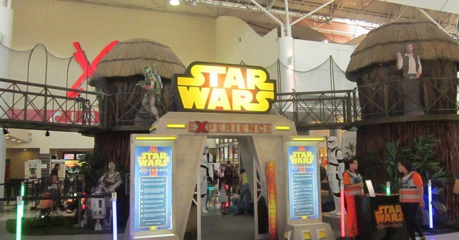 Parque Star Wars Experience anima férias escolares do Shopping VillaLobos