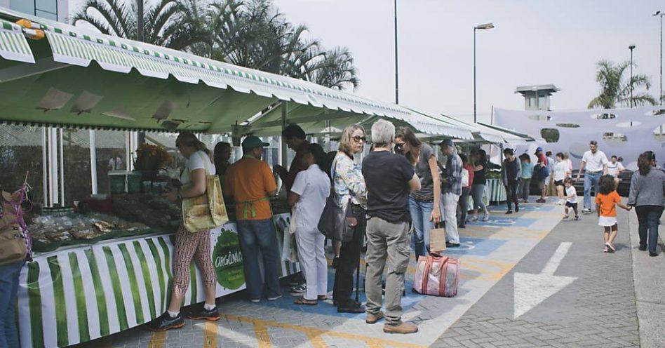 Shoppings de São Paulo aderem às feiras orgânicas