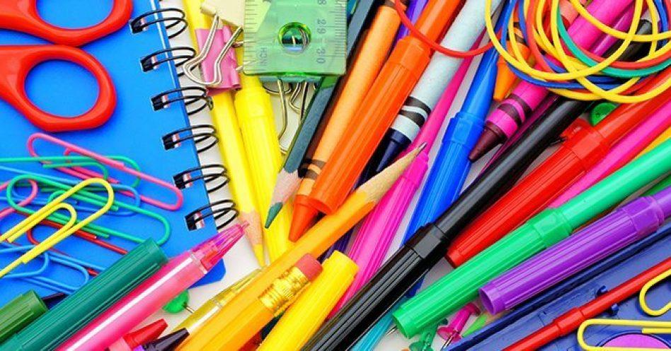 Campanha arrecada material escolar usado para reciclagem