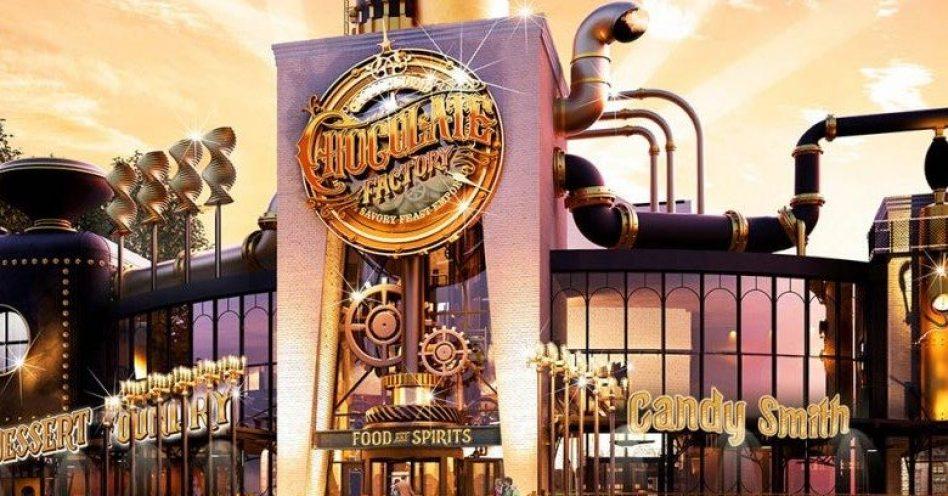 Universal Studios ganhará restaurante temático da Fantástica Fábrica de Chocolate