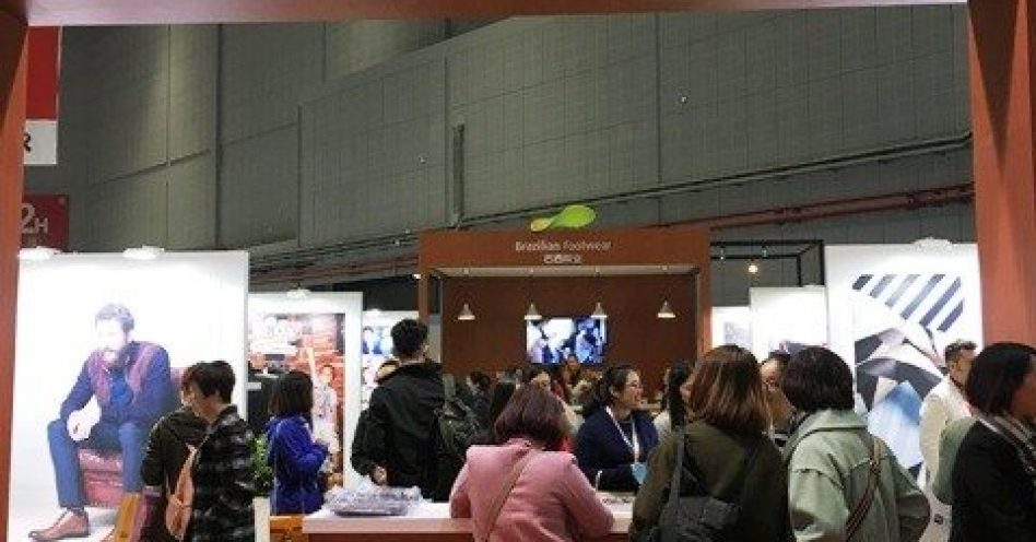 Marcas nacionais obtém bons resultados em feira calçadista na China
