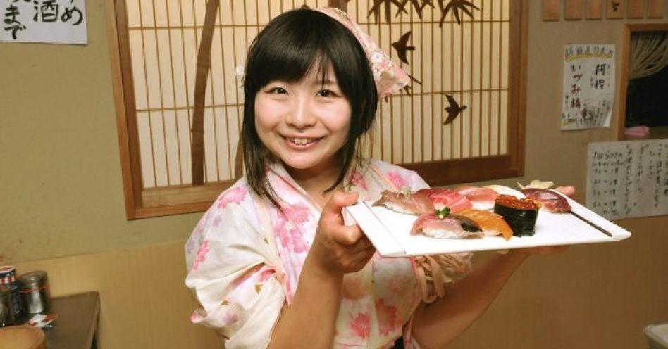 Quebrando tabus na terra do sushi