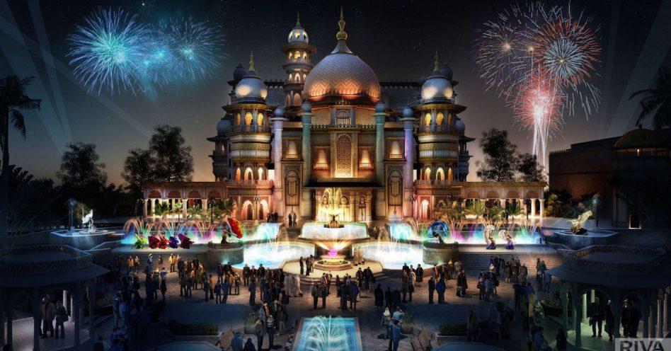 Maior parque de diversões do mundo será inaugurado  em Dubai