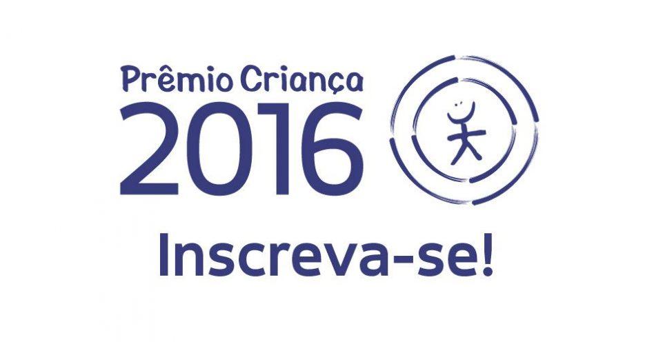Prêmio Criança 2016, da fundação Abrinq, tem inscrições prorrogadas