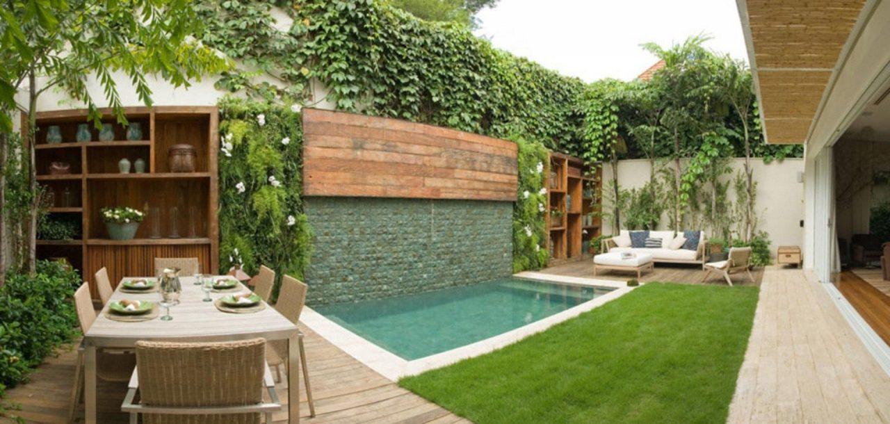 Dicas de paisagismo para a rea da piscina primeira p gina for Piscinas estructurales