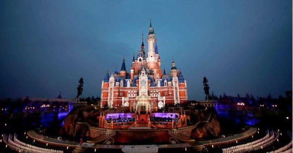 Disney chega à China com maior castelo do mundo