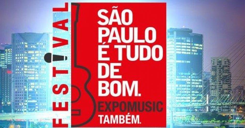 """Inscrições para o """"São Paulo é tudo de bom, a Expomusic também"""" se encerram dia 21"""