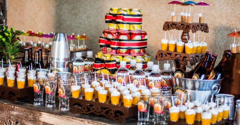 Estética de boteco está em alta nas festas