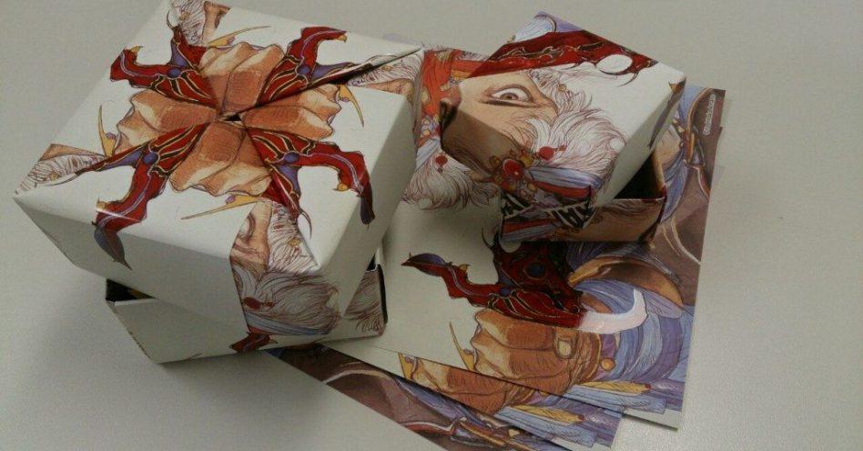 Curso ensina a fazer caixas com papel reciclável