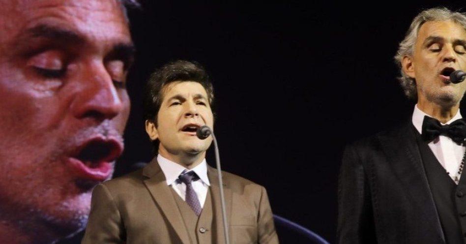 Santuário Nacional de Aparecida jamais viu espetáculo tão grandioso como o do tenor Andrea Bocelli