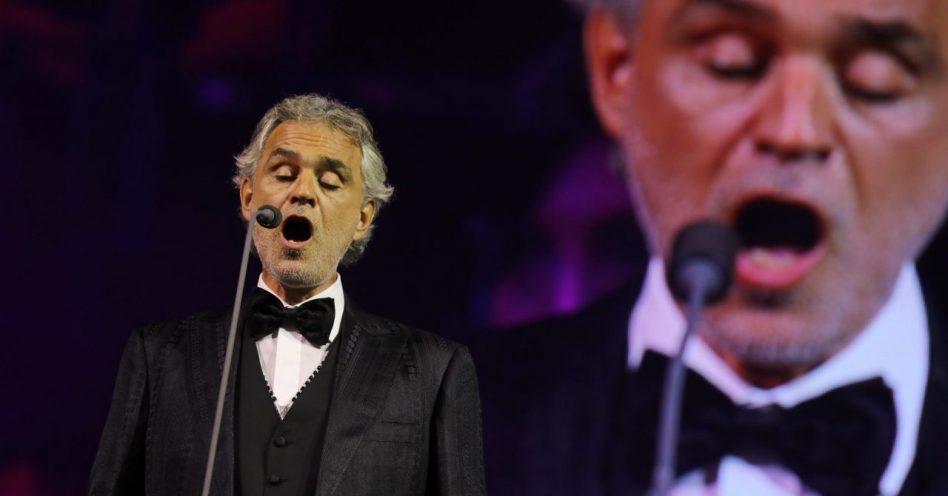 Andrea Bocelli se despediu da cidade com show na Sala São Paulo
