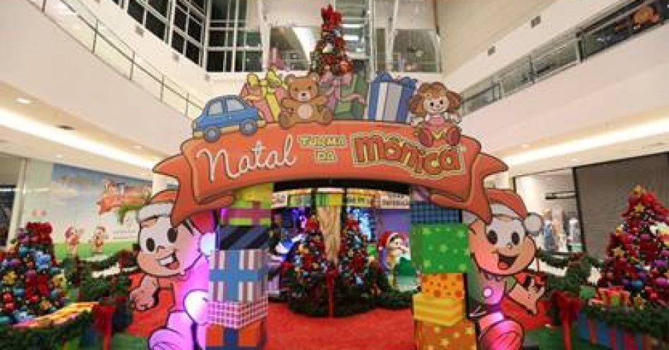 Shoppings iniciam montagem de atrações natalinas para atrair consumidores