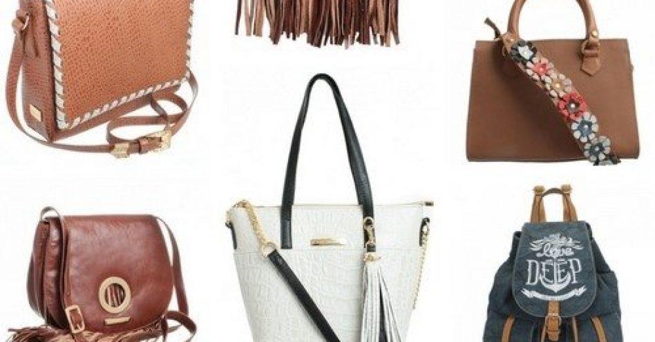 Bolsas para o verão terão alças largas, cores e muitas aplicações