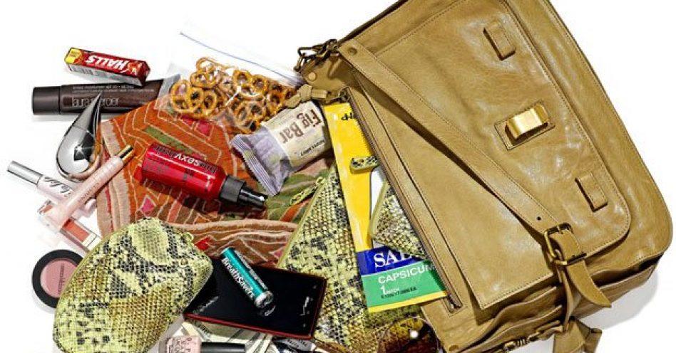 Além de bonita, a bolsa pode ser muito funcional