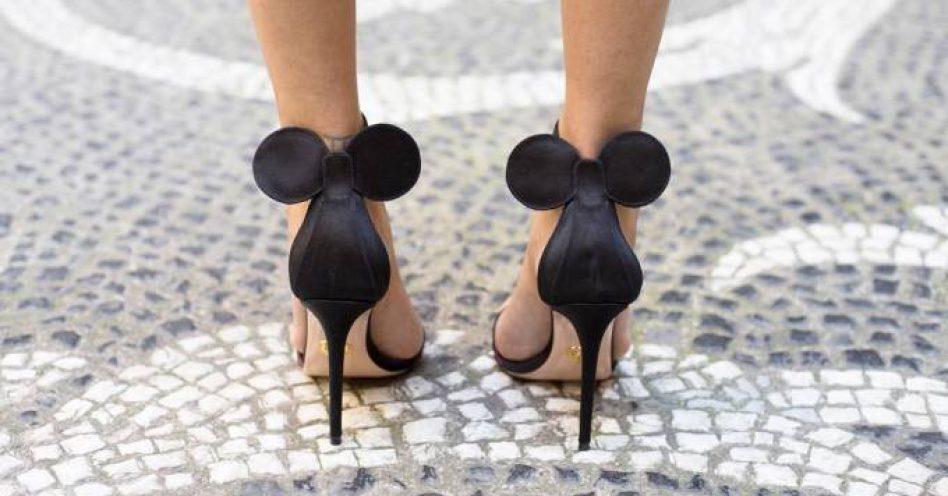 Sapato Minnie vira febre no street style