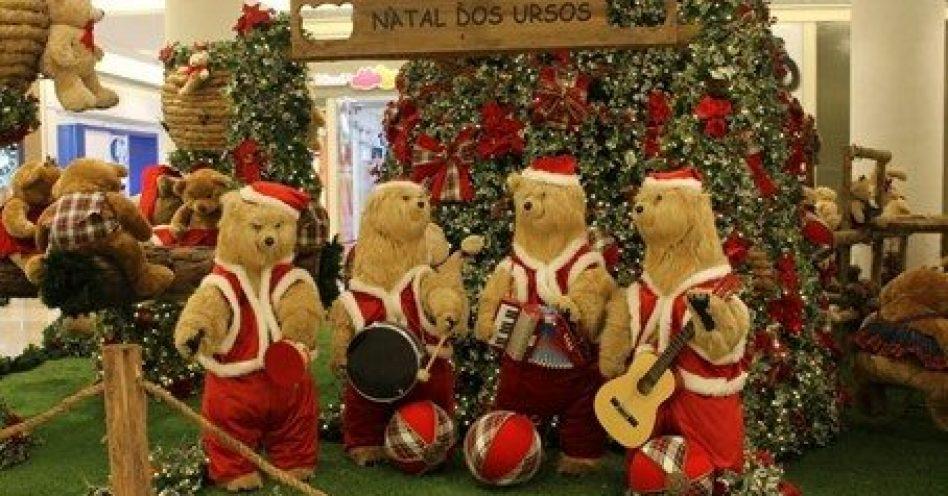 """Shopping Metrô Itaquera celebra o """"Natal dos Ursos"""""""