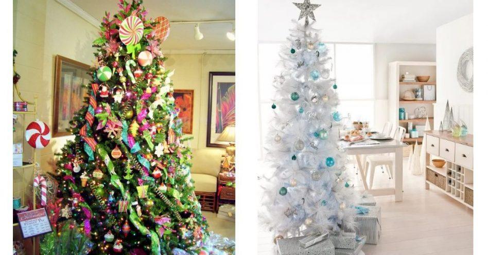 Árvores diferenciadas conferem novos ares à decoração natalina