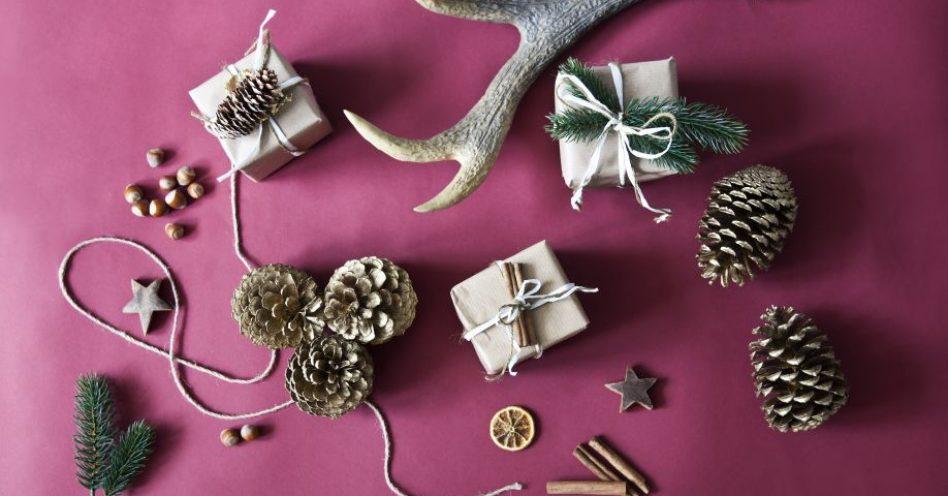 Toque natural leva clima aconchegante à decoração natalina