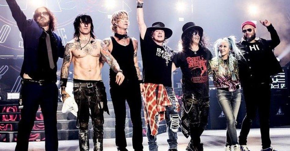 Guns N' Roses lidera lista de turnês mais lucrativas de 2016