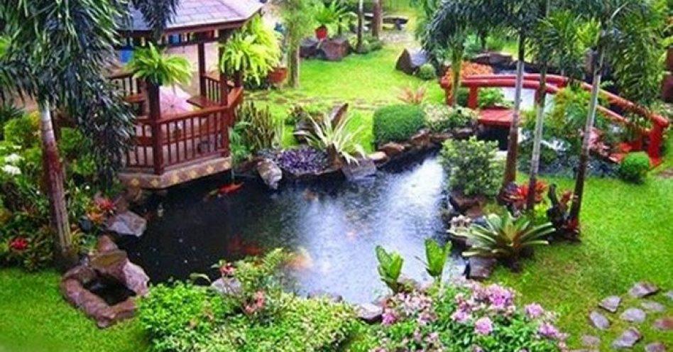 Jardim Zen Japonês traz beleza e tranquilidade ao ambiente