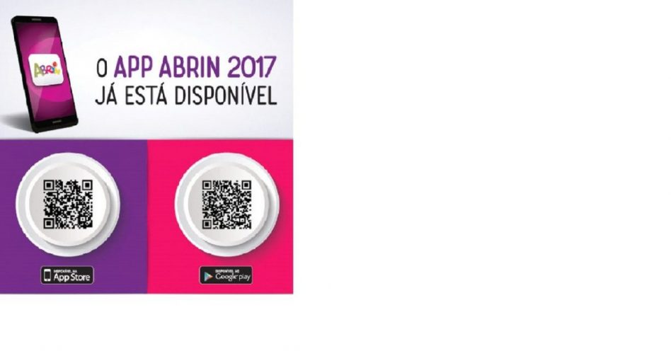 Aplicativo facilita visita à ABRIN 2017