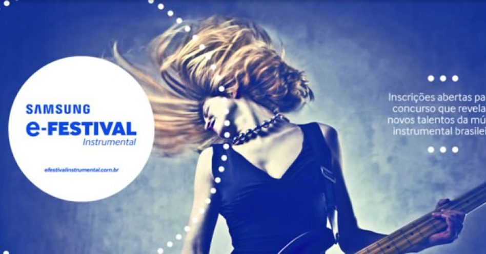 Estão abertas as inscrições para o Samsung E-Festival