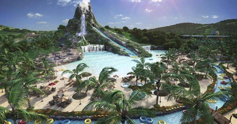 Piscina de ondas é atrativo do recém-inaugurado Minas Beach Park