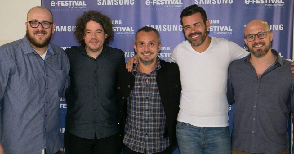 Samsung E-Festival Instrumental abre caminhos para novos talentos