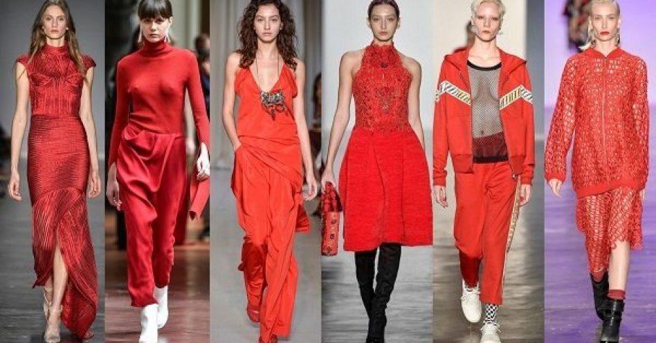 Abusado ou escondido, vermelho é tendência absoluta neste inverno