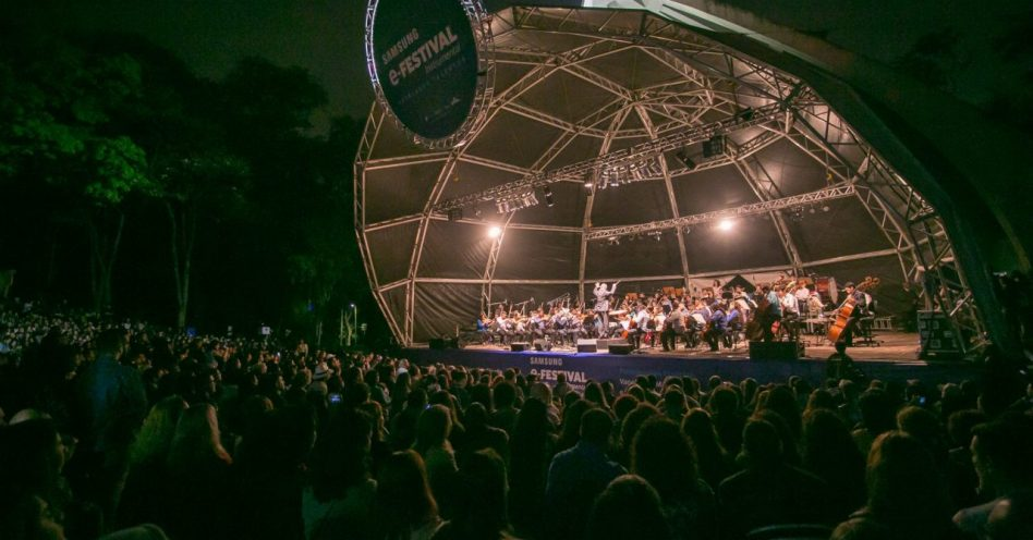 Domingo tem show gratuito com vencedor do Samsung E-Festival Instrumental, Orquestra Juvenil Heliópolis e participação especial da Pitty