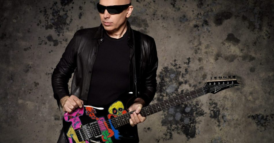 Pela primeira vez, Joe Satriani se apresenta no Samsung Best of Blues gratuitamente no Ibirapuera