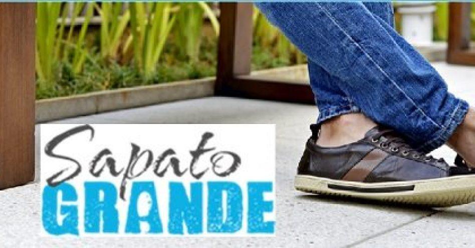 Sapato Grande facilita a vida de quem usa numeração acima de 44