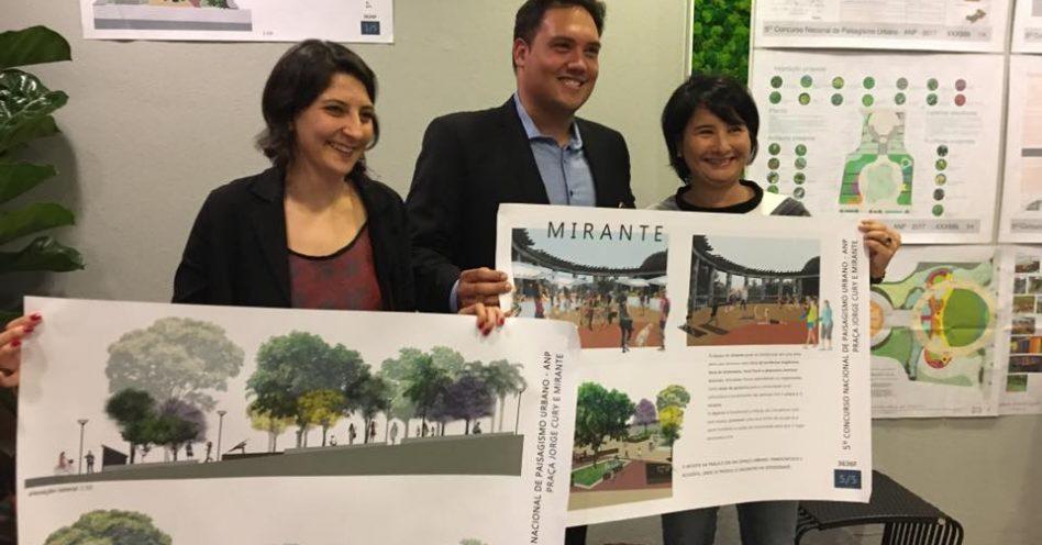 Magali Tamaki vence 5º Concurso Nacional de Paisagismo Urbano