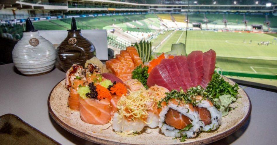 Allianz Parque ganha restaurante japonês panorâmico