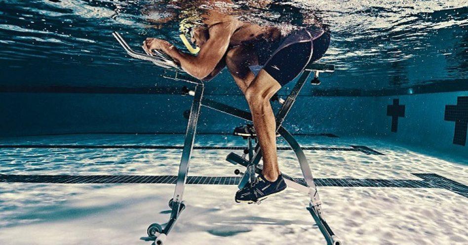 Hidrobike, ou ciclismo aquático, promove série de benefícios para a saúde