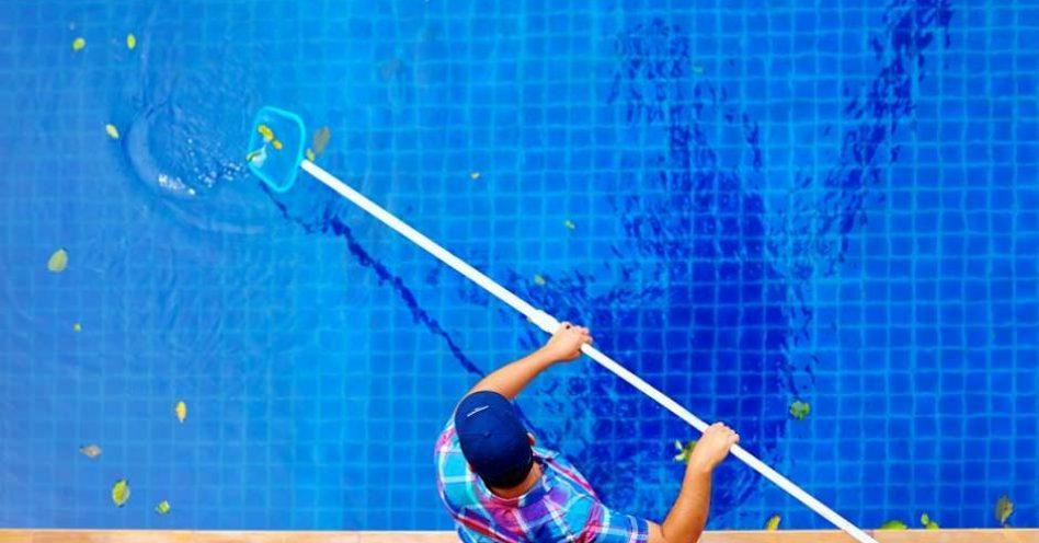 Chegou a hora de deixar a piscina limpa para o Verão