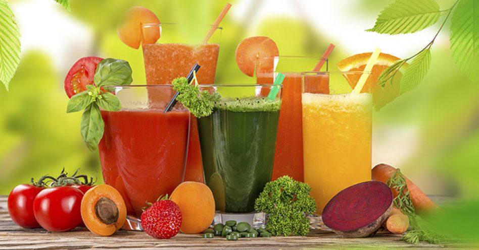 Sucos energéticos naturais hidratam e alimentam