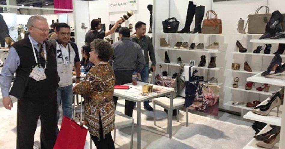 Maior feira norte-americana recebeu 21 marcas calçadistas brasileiras