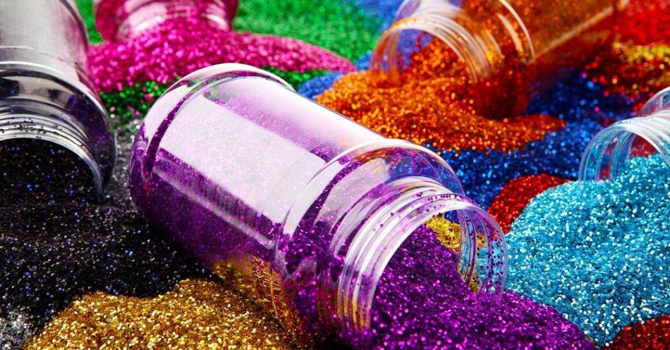 Glitter biodegradável não polui ambiente e é seguro para população marinha