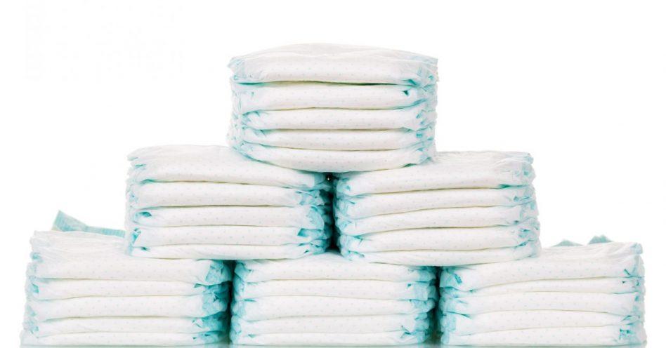 Calcule quantas fraldas seu bebê vai usar por dia e evite desperdícios
