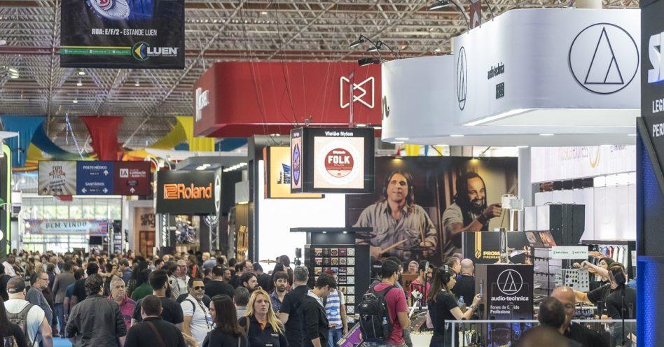 Marcas famosas e dezenas de produtos têm presença assegurada na Expomusic em Recife